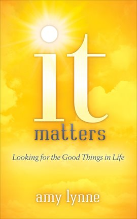 Cover image for It Matters