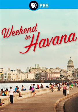 Weekend in Havana, portada del libro