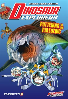 Cover image for Dinosaur Explorers Vol. 2: Puttering in the Palaeozoic