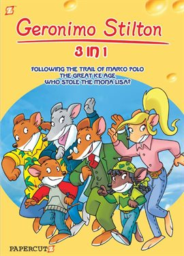 Cover image for Geronimo Stilton Vol. 2: 3-in-1