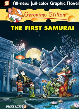 Cover image for Geronimo Stilton Vol. 12: The First Samurai