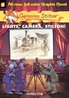 Cover image for Geronimo Stilton Vol. 16: Lights, Camera, Stilton!