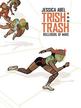 Trish Trash , book cover