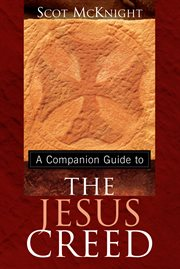 A companion guide to The Jesus creed cover image