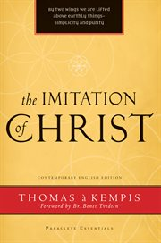 The imitation of Christ cover image