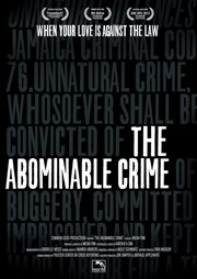 The abominable crime cover image
