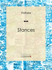 Stances : Poésie cover image