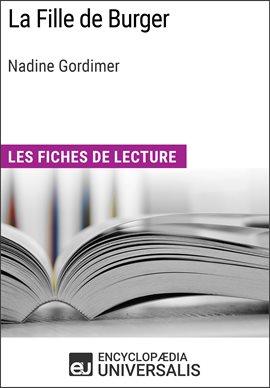 Cover image for La Fille de Burger de Nadine Gordimer