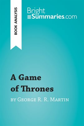 Cover image for A Game of Thrones by George R. R. Martin (Book Analysis)