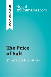 The price of salt by patricia highsmith (book analysis). Detailed Summary, Analysis and Reading Guide cover image