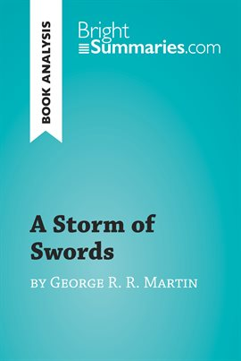 Cover image for A Storm of Swords by George R. R. Martin (Book Analysis)