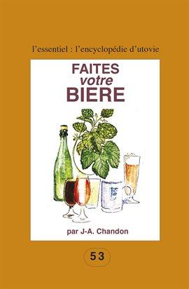 Cover image for Faites votre bière
