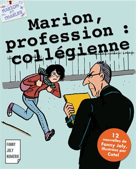 Cover image for Marion, profession : collégienne