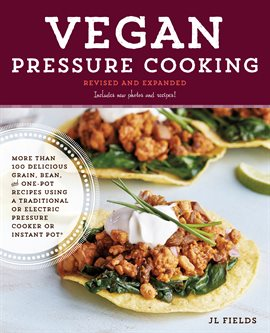 Cover image for Vegan Pressure Cooking