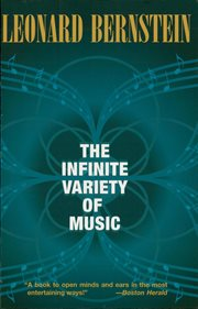 The infinite variety of music cover image