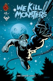 We kill monsters. Issue 3 cover image