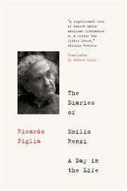 The diaries of emilio renzi. A Day in the Life cover image