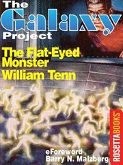 The flat-eyed monster cover image