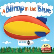 A blimp in the blue cover image