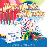 Days, weeks, and months cover image