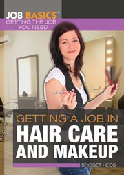 Getting a job in hair care and makeup cover image