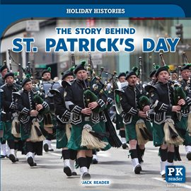 The Story Behind St. Patrick's Day, book cover