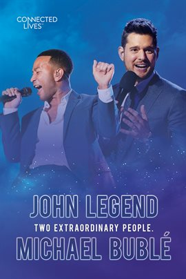 Cover image for John Legend/Michael Buble