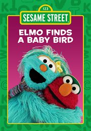 Elmo finds a baby bird cover image