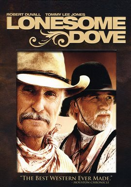 Cover image for Lonesome Dove: The Complete Miniseries