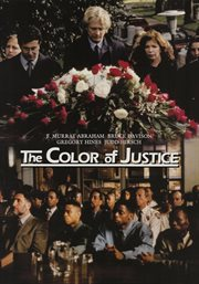 Color of justice cover image