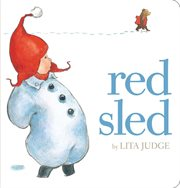 Red sled cover image