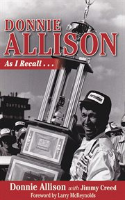Donnie Allison : As I Recall cover image