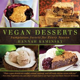 Cover image for Vegan Desserts