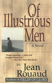 Of illustrious men : a novel cover image