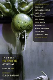 The best horror of the year. Volume six cover image