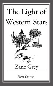 The light of western stars cover image