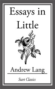 Essays in Little cover image