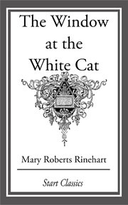 The window at the white cat cover image