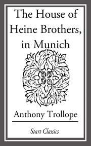 The house of Heine brothers, in Munich cover image