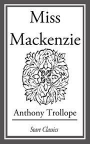 Miss Mackenzie cover image