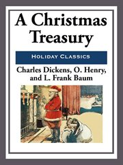 A Christmas treasury cover image