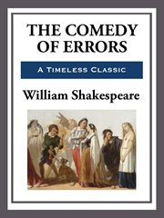 The Comedy of Errors cover image