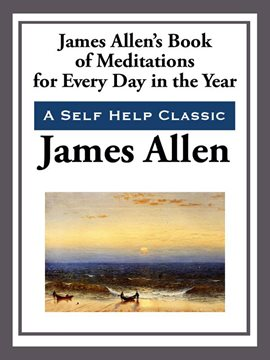 Cover image for James Allen's Book of Meditations for Every Day of the Year