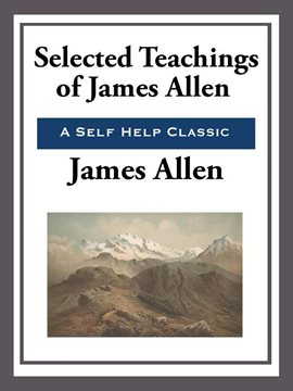 Cover image for Selected Teachings of James Allen