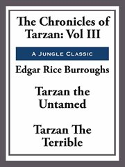 The Chronicles of Tarzan cover image