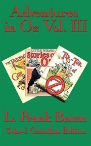 Adventures in Oz. Vol. III cover image