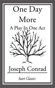 One day more a play in one act cover image