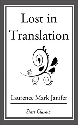 Cover image for Lost in Translation
