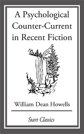 Cover image for A Psychological Counter-Current in Recent Fiction