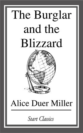 Cover image for The Burglar and the Blizzard